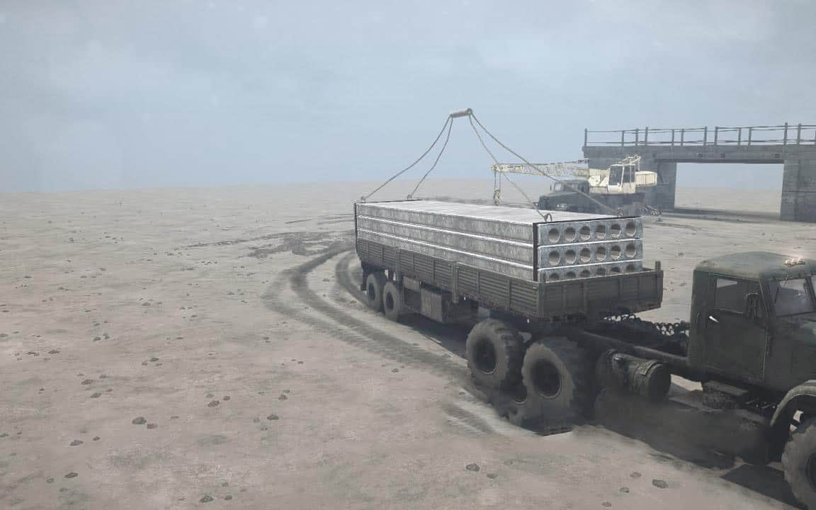 Spintires:Mudrunner - Bridge That Needs to be Built (for Card Makers) V1.0
