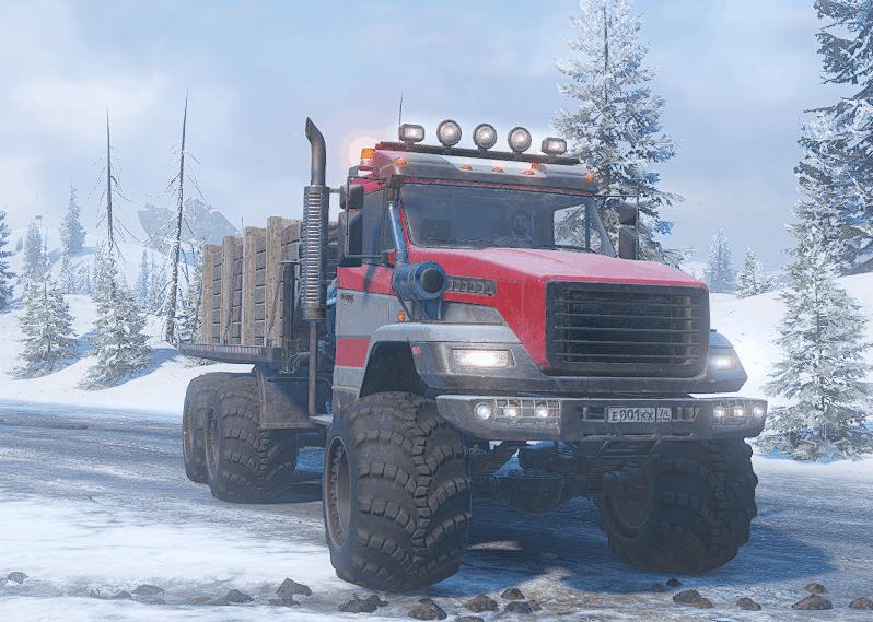 SnowRunner - Voron Xe Grad Truck V1.0
