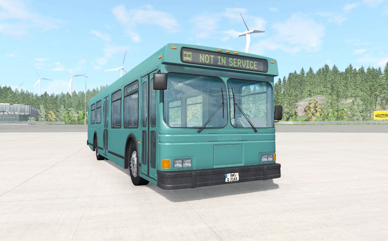 BeamNG - Wentward DT35SE Bus Mod V2.21