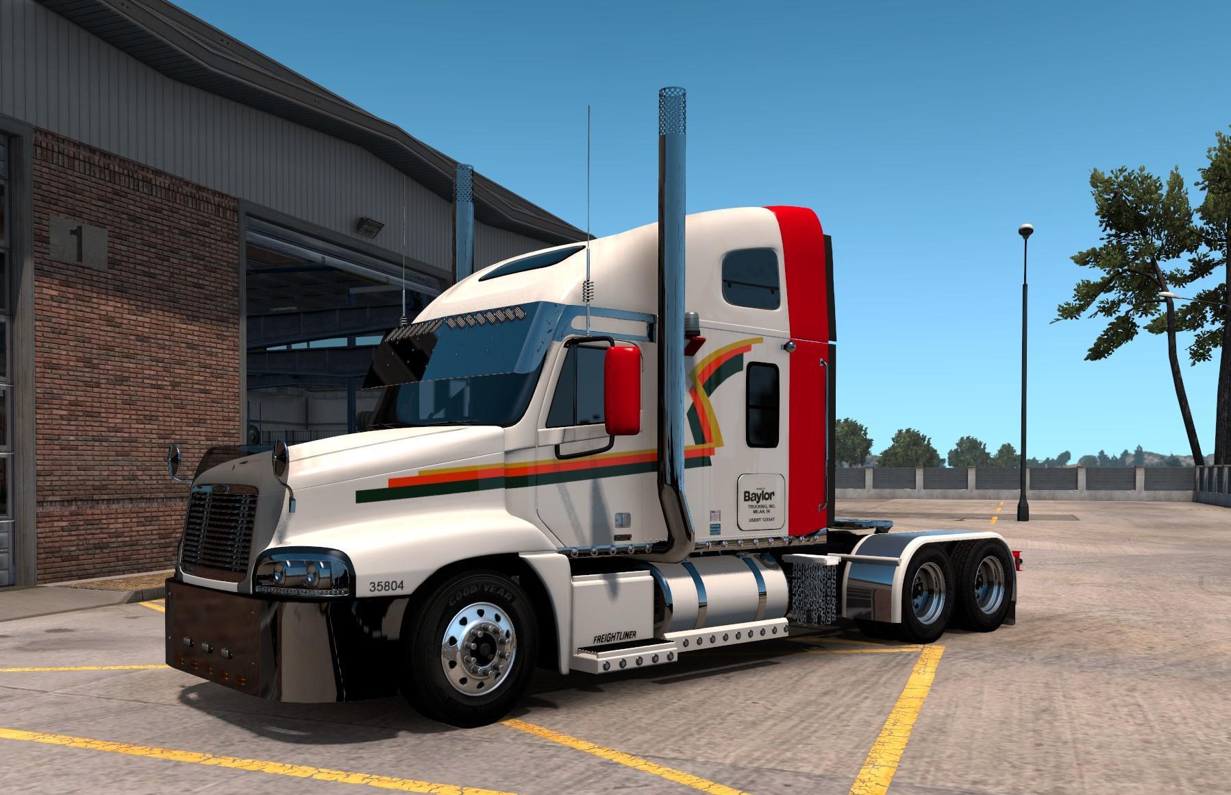 ATS - Freightliner Columbia/Century Custom Truck (1.38.x)