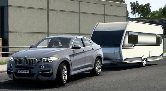 ETS2 - BMW X6 M F16 V2.1 (1.41.x)