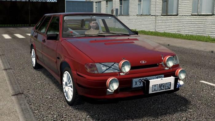 City Car Driving 1.5.9 - Vaz 2114 Samara 1.6 MT Rally