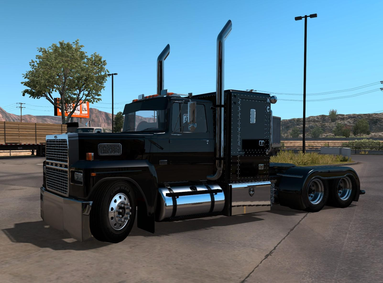 ATS - Ford LTL9000 Truck (1.38.x) Beta