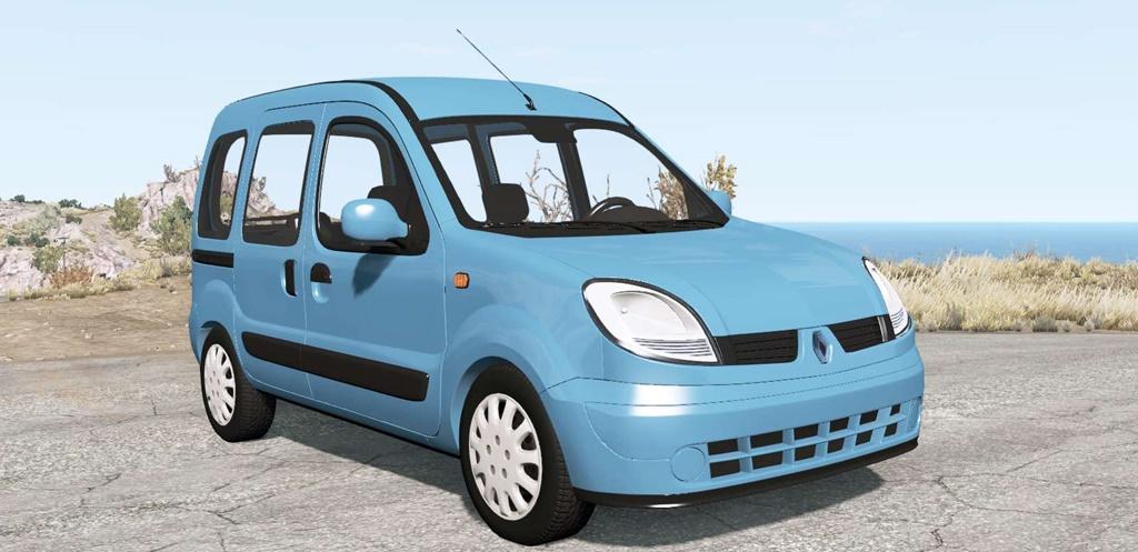 BeamNG - Renault Kangoo 2004 Car Mod