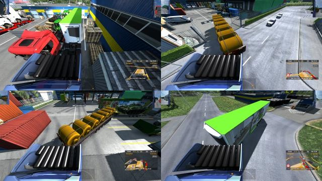 ETS2 - Rear View Camera (1.37.x)