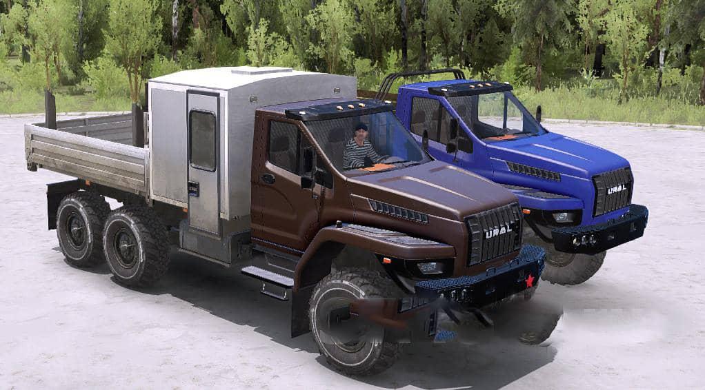 Spintires:Mudrunner - Ural Next Limited Truck V11.01.21