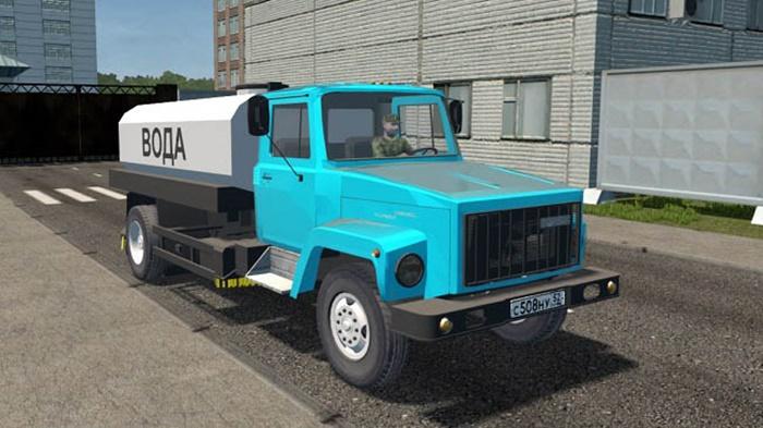 City Car Driving 1.5.9 - Gaz 3309 Truck