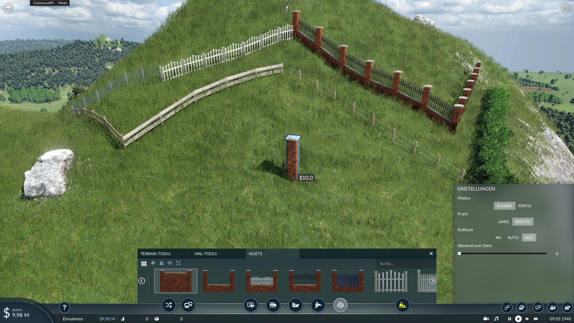 Transport Fever 2 - Fences