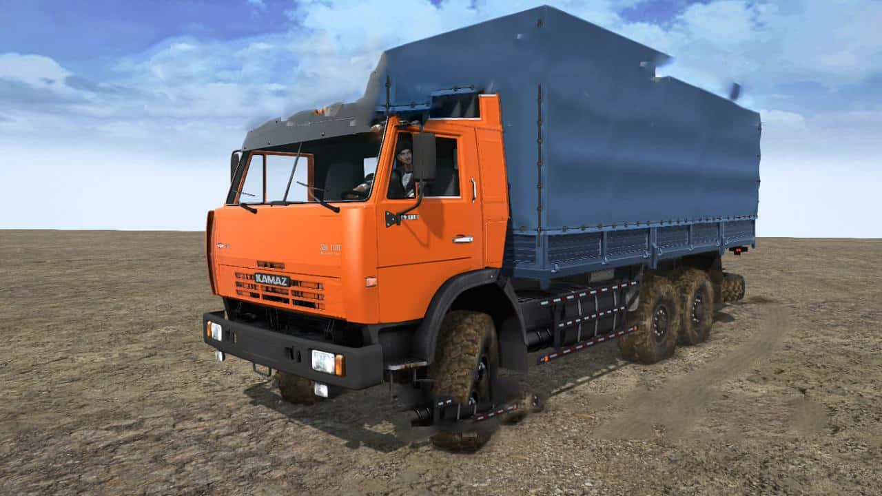Spintires:Mudrunner - KamAZ-43110, 43118 Truck V1