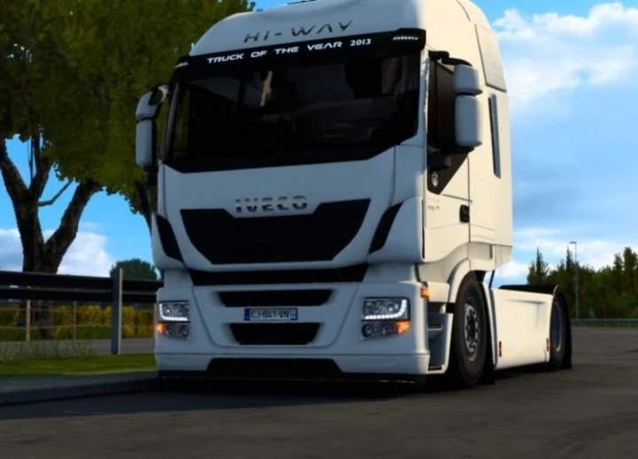 ETS2 - Iveco Hi-Way Low Chassis (1.41.x)