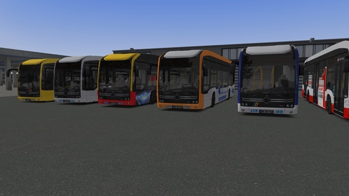 Omsi 2 – Add-On E-Bus Hamburg