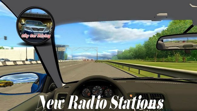 City Car Driving 1.5.9 - New Radio Stations V1.0