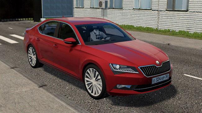 City Car Driving 1.5.9 - Skoda Superb (B8) 2017