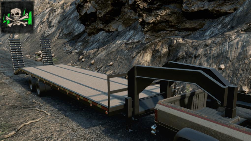 SnowRunner - Gooseneck Trailer V1.0