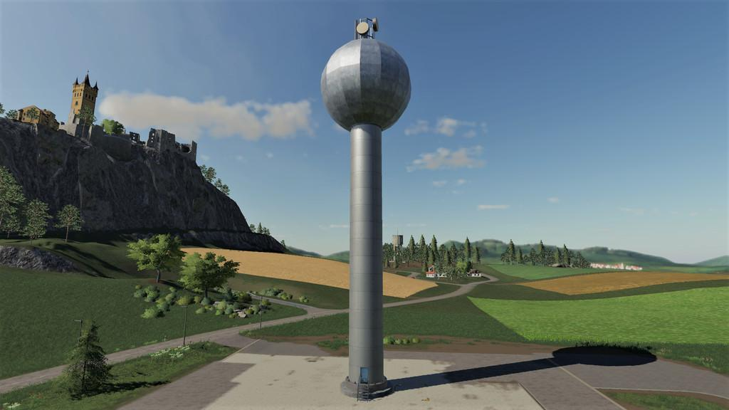 FS19 - Placeable Watertower v1.0
