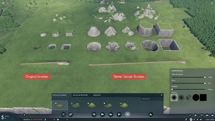 Transport Fever 2 - Better Terrain Brushes
