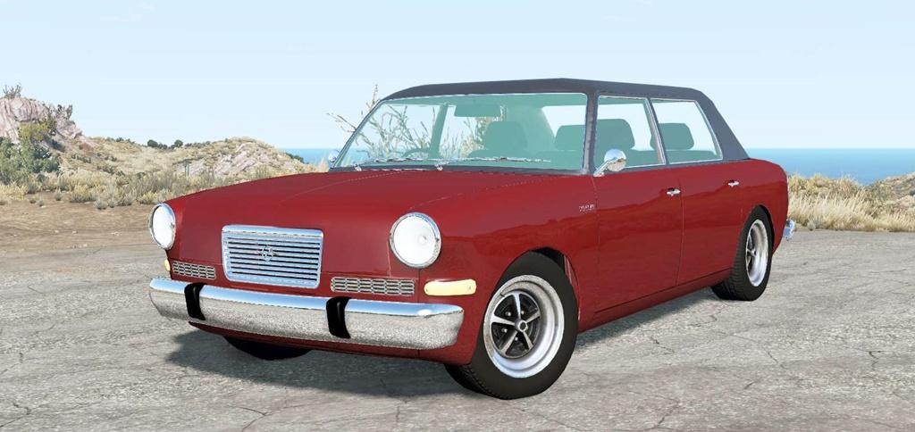 BeamNG - Doyler Beagle Car V1.1