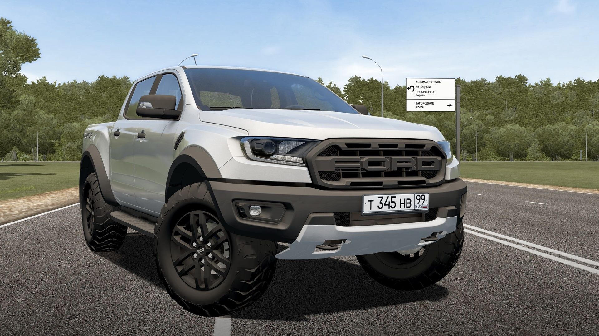 City Car Driving 1 5 8 Ford Ranger Raptor 2019 City Car Driving Simulator Mods Club