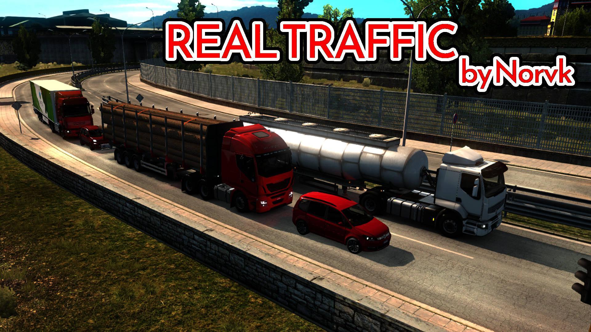 ETS2 - Realistic Traffic Density Mod (1.39.x)