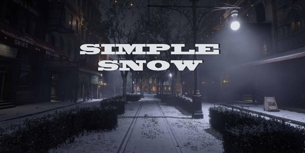 RDR2 - Simple Snow