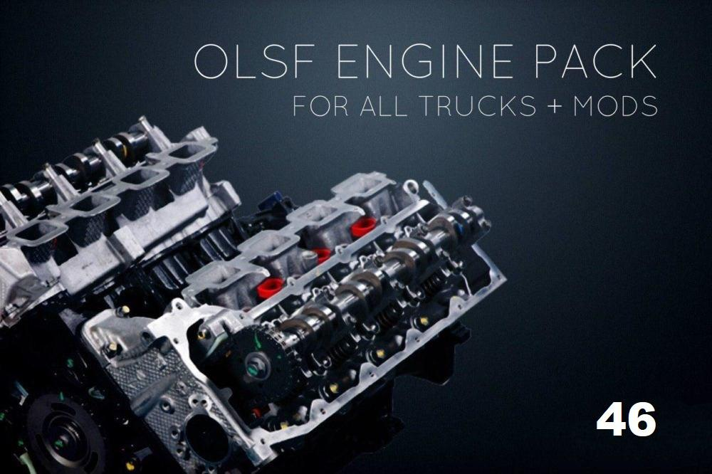 ETS2 - Engines Pack 46 for All Trucks (1.36.x)