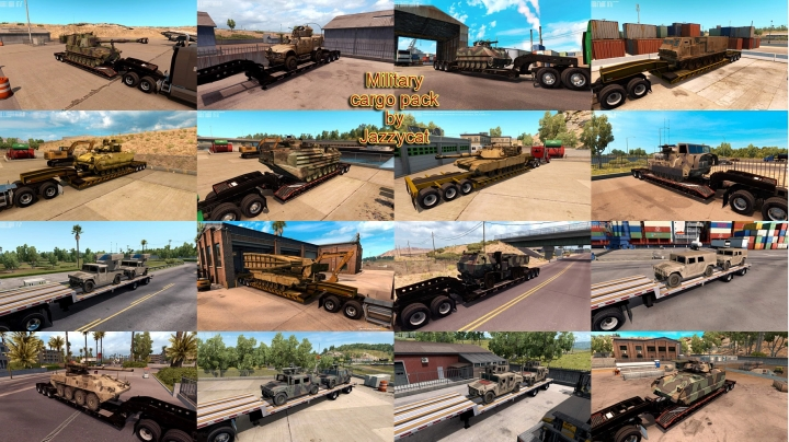 ATS - Military Cargo Pack V1.3.7 (1.41.x)