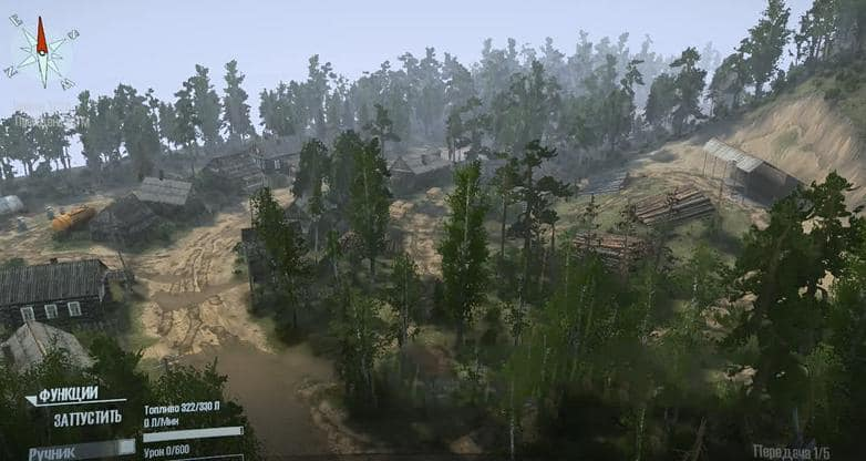 Spintires:Mudrunner - Somewhere In The Wood Map V1.1