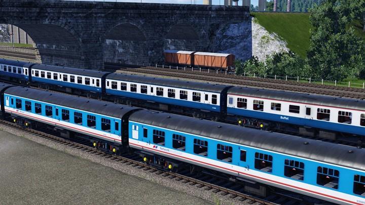 Transport Fever 2 - British Railways Mark 1 Coaches V2 Mega Pack
