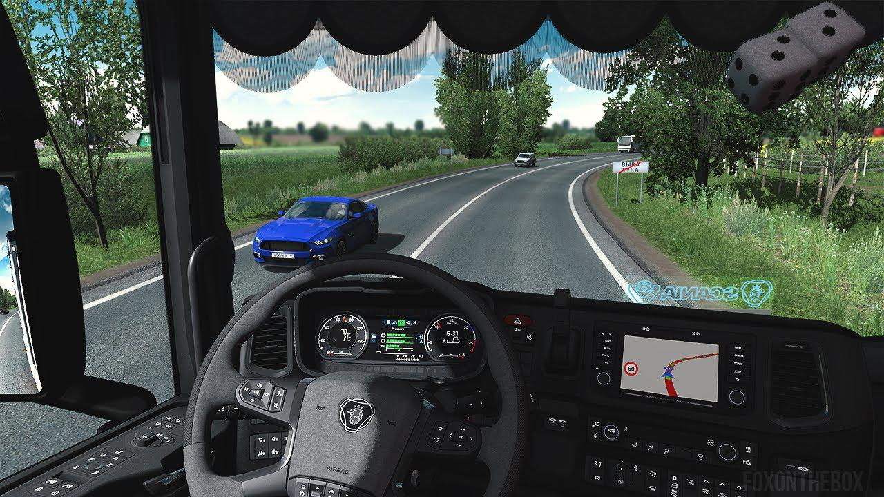 ETS2 - Real Interior Camera Mod (1.38.x)