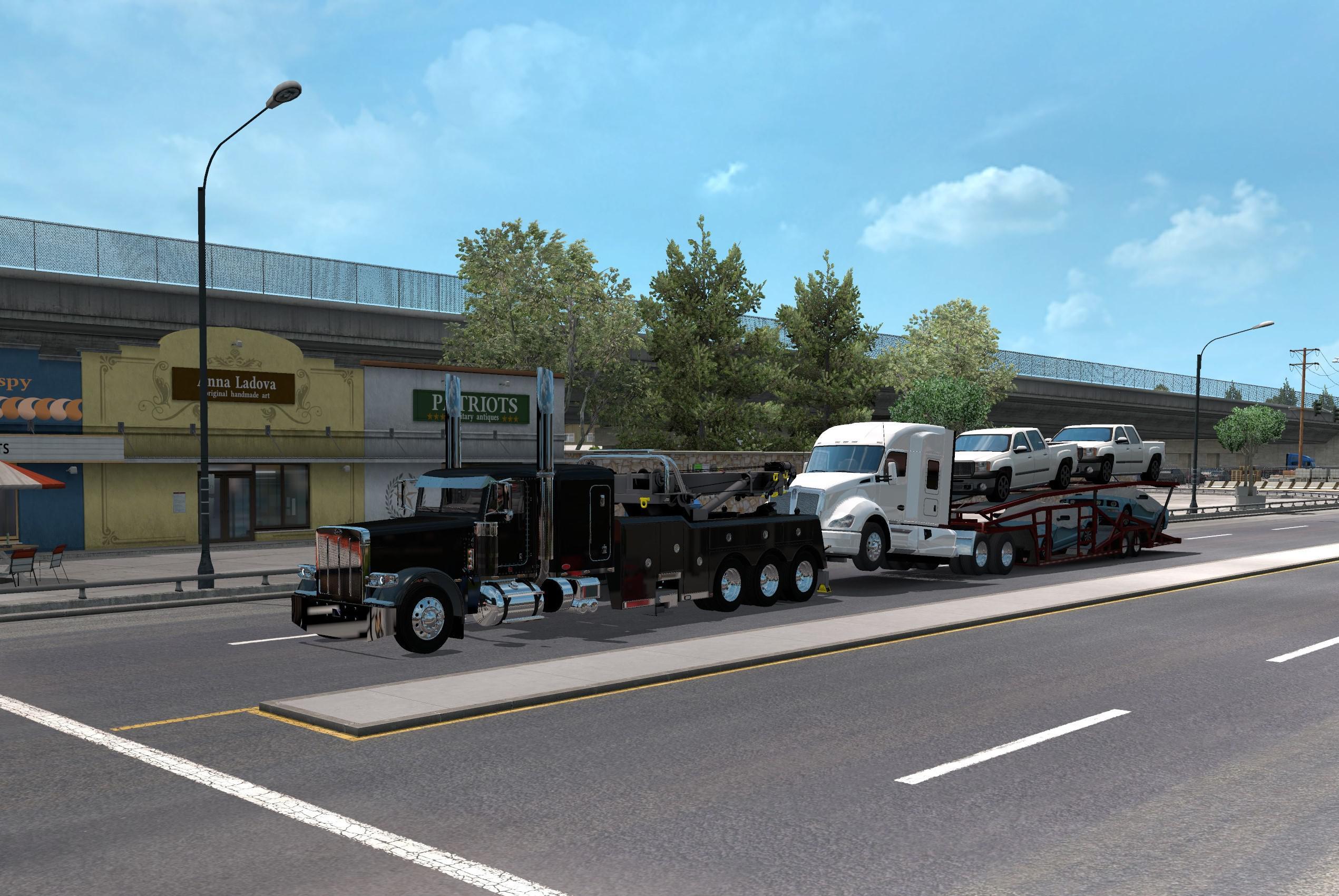 ATS - Truck Transporter Wrecker Loads (1.35.X)