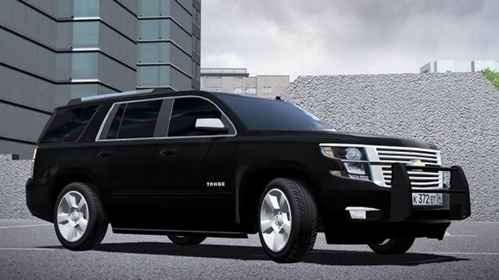 City Car Driving 1.5.9 - Chevrolet Tahoe LTZ 2015