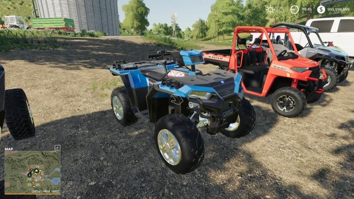 FS19 - 2019 Polaris Scrambler V1.0