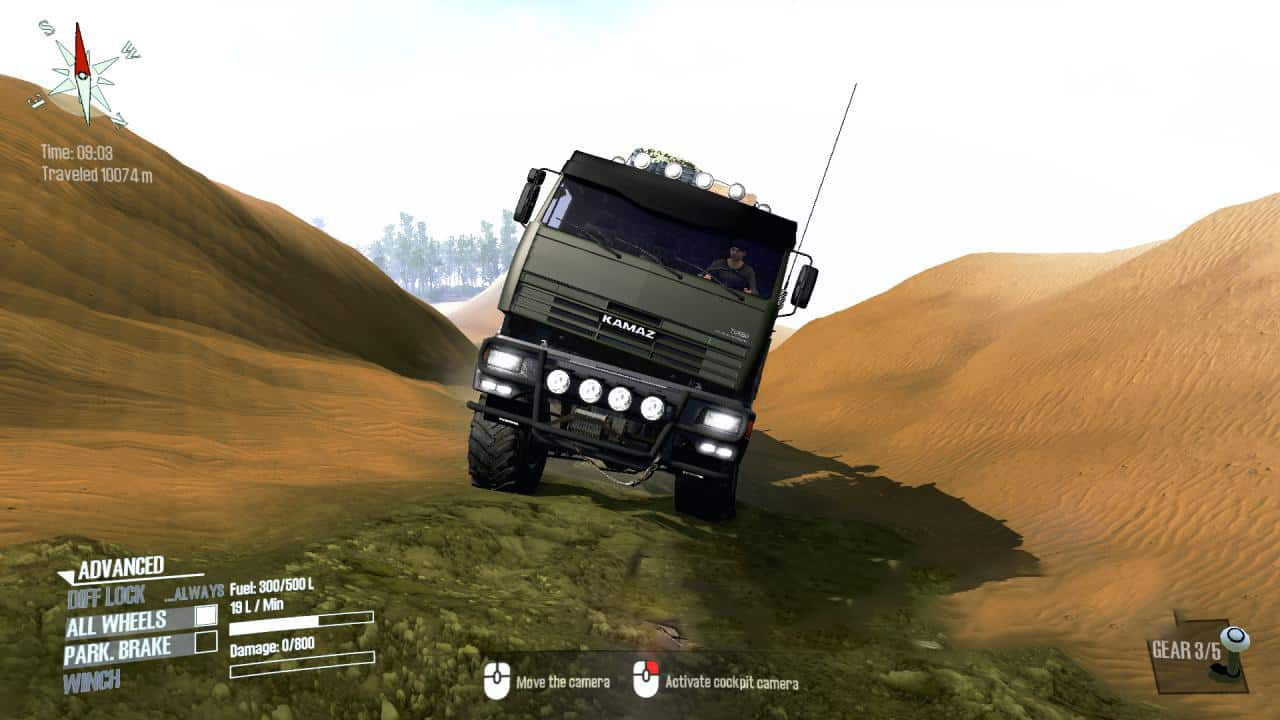 Spintires:Mudrunner - Kamaz 54115 Truck V2.0