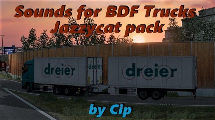 ETS2 - Sounds for BDF Ai Truck Pack V6.9 (1.36.x)