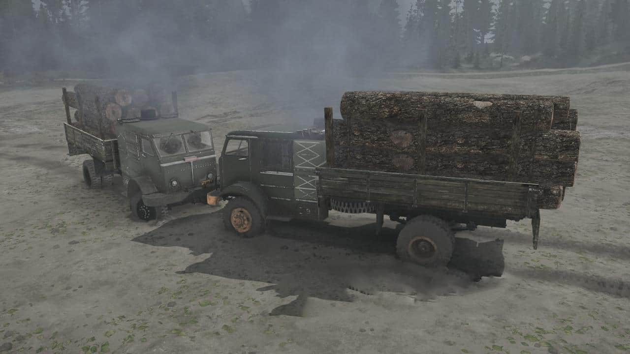 Spintires:Mudrunner - Steam Trucks Pack US 012/018 V1.0