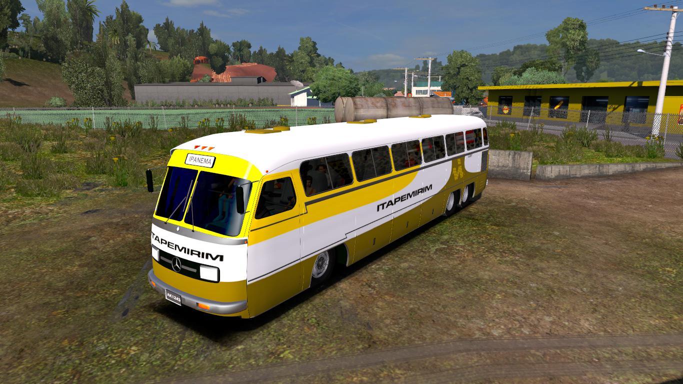 ETS2 - Mercedes-Benz O326 Bus V1.0 (1.36.x)