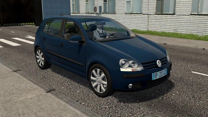 City Car Driving 1.5.9 - Volkswagen Golf Mk5 2004 Car Mod