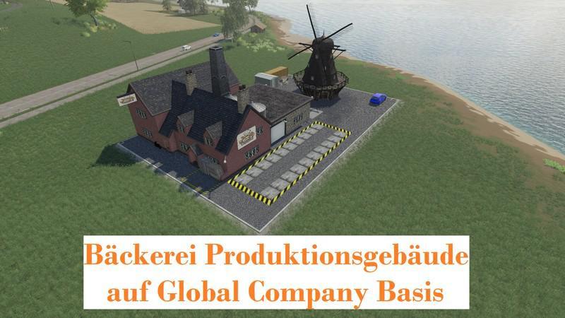 FS19 - Bakery - GlobalCompany (Placeable) V1.4.1.1