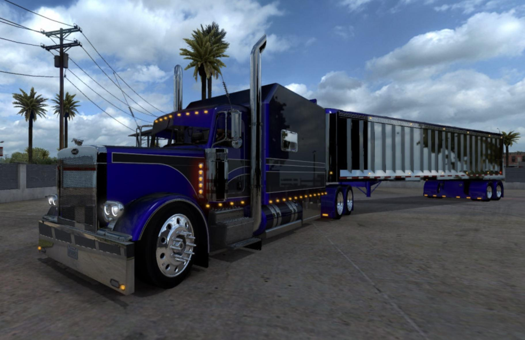 Ats Outlaw Peterbilt 379 Truck V3 3 1 38 X American Truck Simulator Mods Club