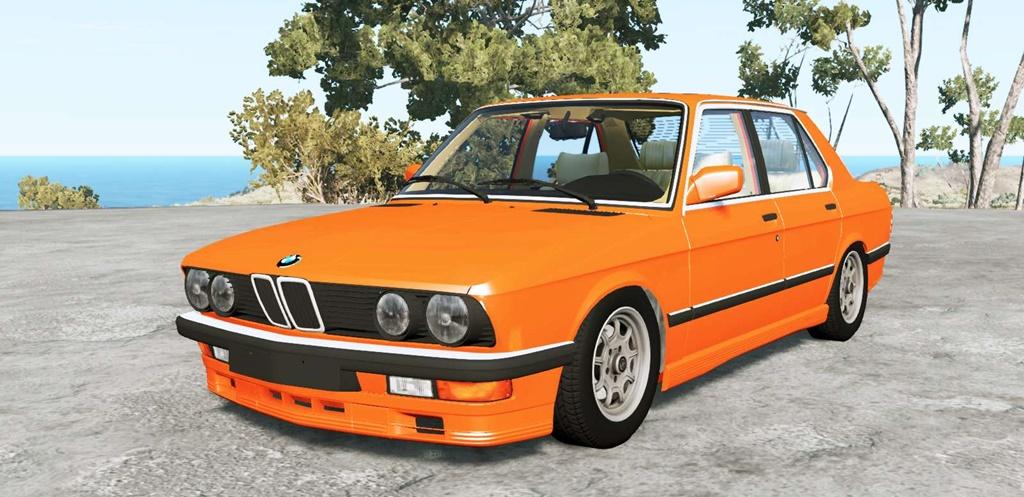 BeamNG - BMW M5 (E28) 1985 V1.18
