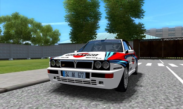 City Car Driving 1.5.9 - Lancia Delta HF Integrale Evo 1992