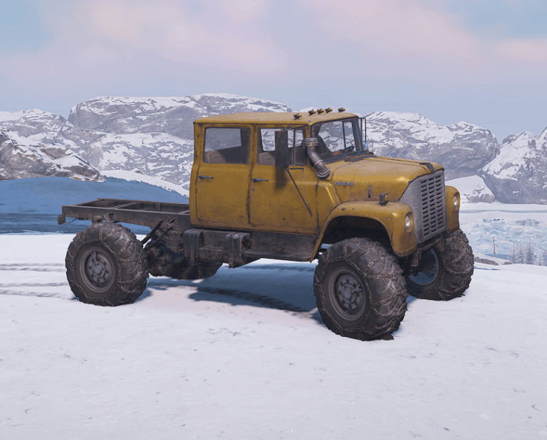SnowRunner - Icebox 1700 Truck V1.0