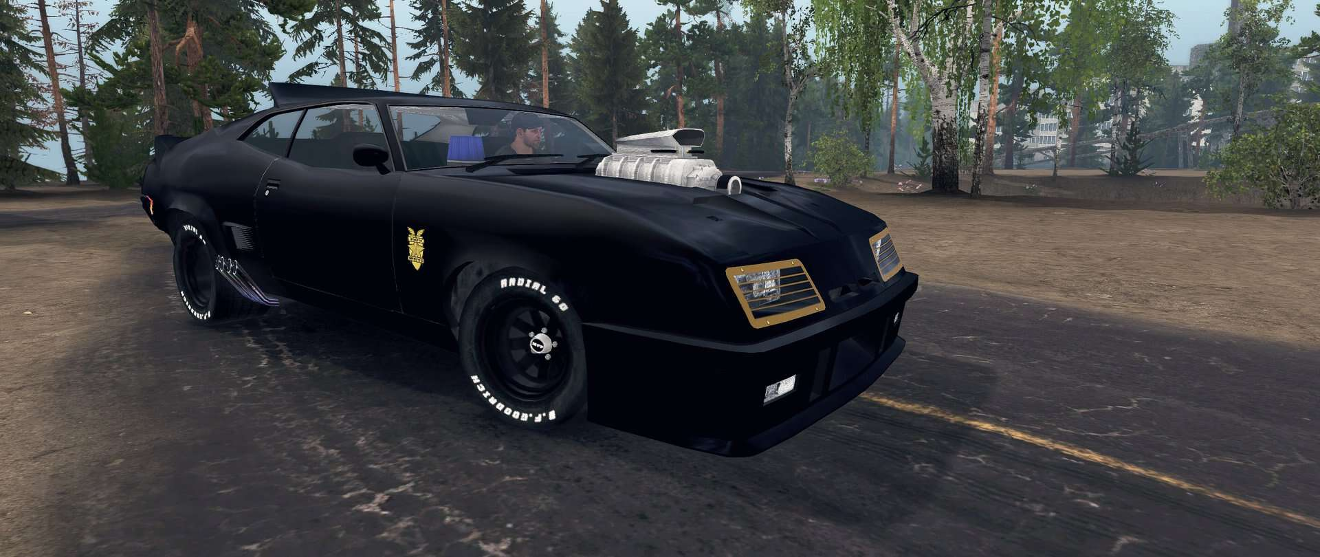 Spintires:Mudrunner - Ford Falcon GT 1971 (Mad Max) V1.0