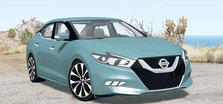 BeamNG – Nissan Maxima SR 2016 Car Mod V2.0