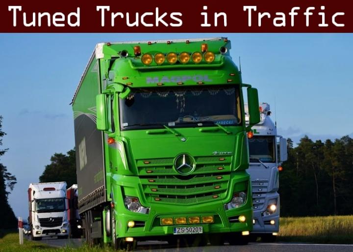ETS2 - Tuned Truck Traffic Pack V2.8.2 (1.40.x)