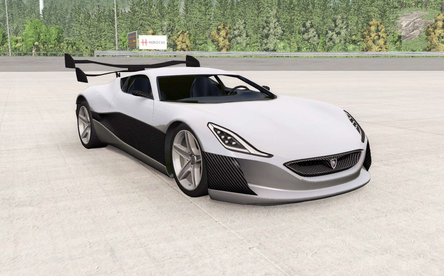 BeamNG - Rimac Concept One Car Mod