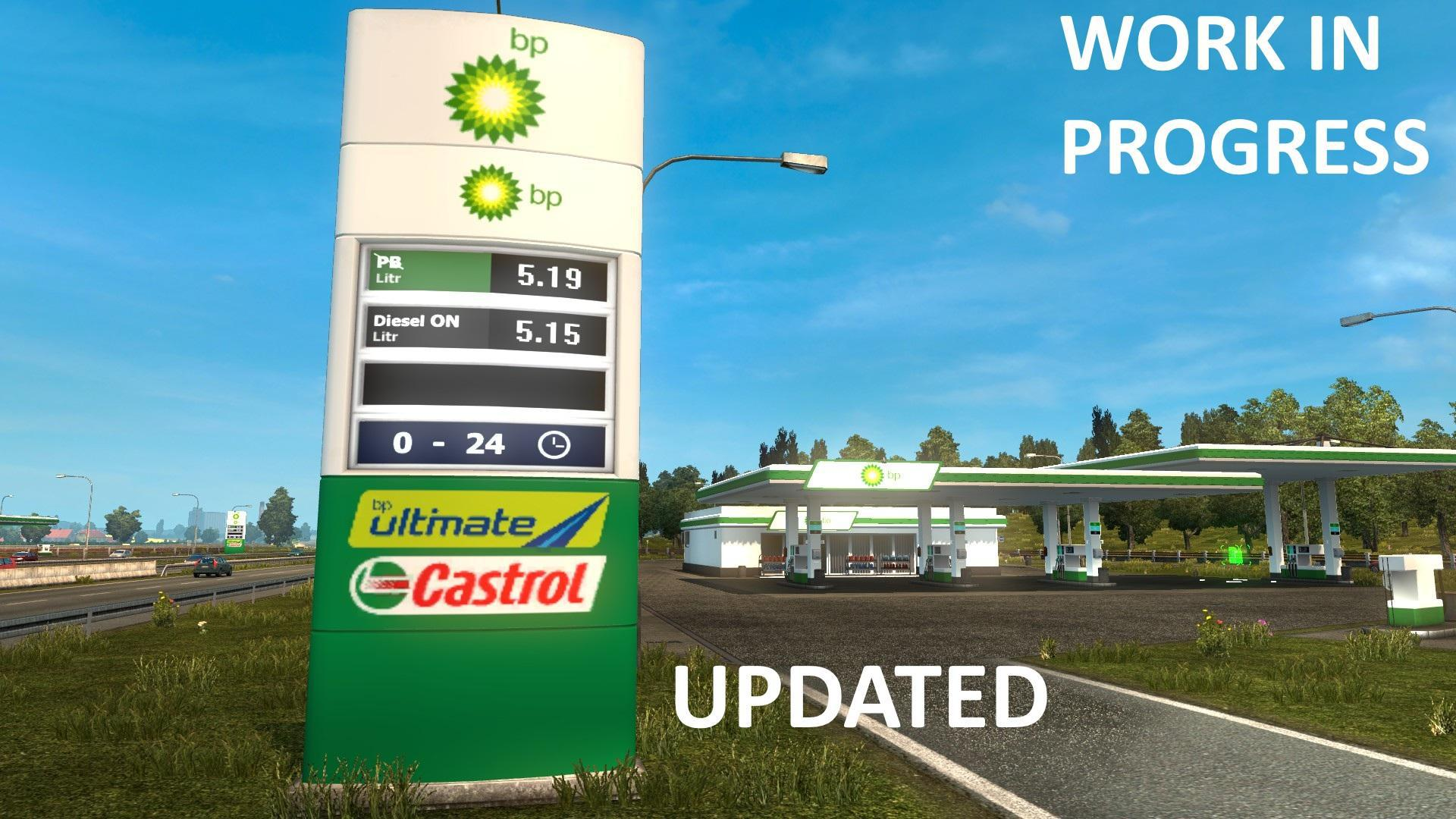 ETS2 - Real European Gas Stations (1.37.x)