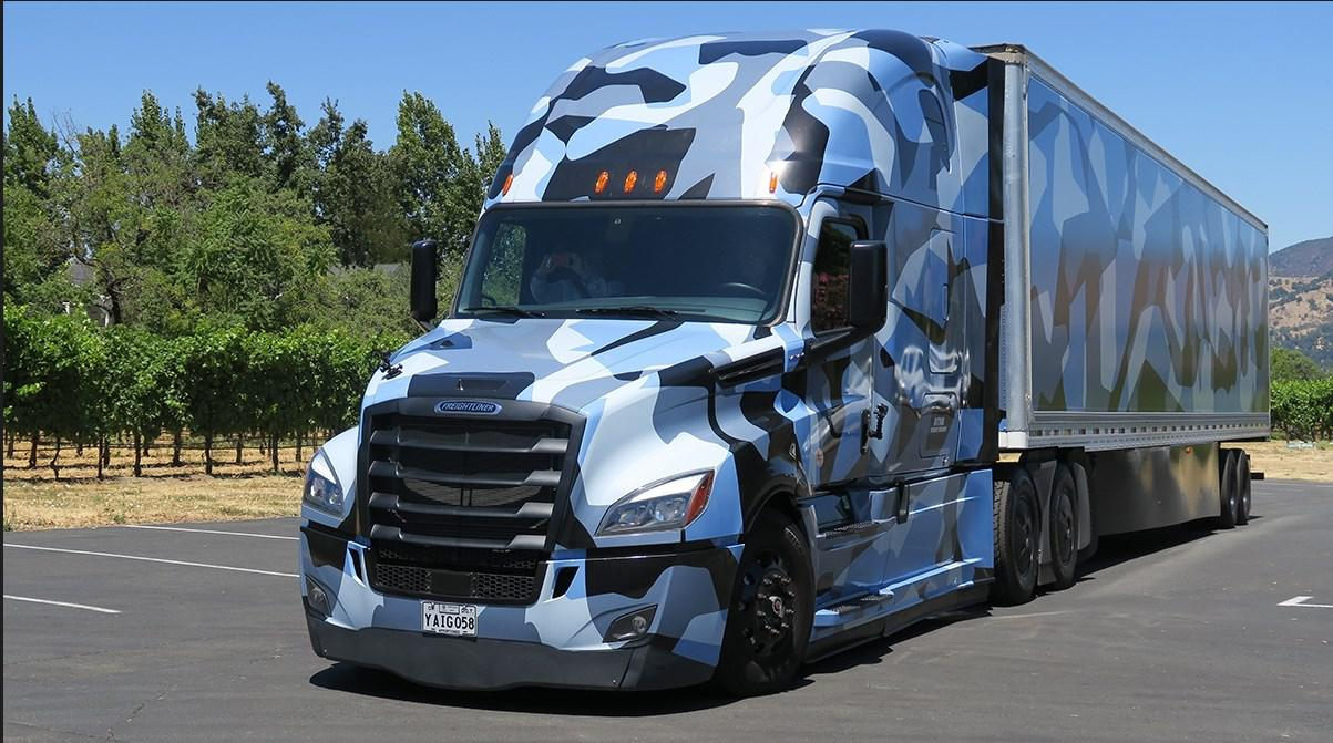 ATS - Freightliner Cascadia Combo Camouflage V1.0 (1.36.x)