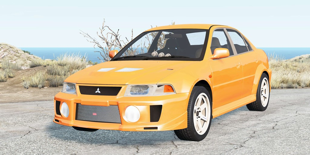 BeamNG - Mitsubishi Lancer Evolution V (CP9A) 1998 Car Mod