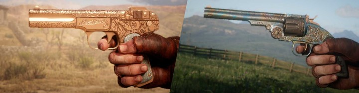 RDR2 - Copper and Tempered Steel Gun Metal